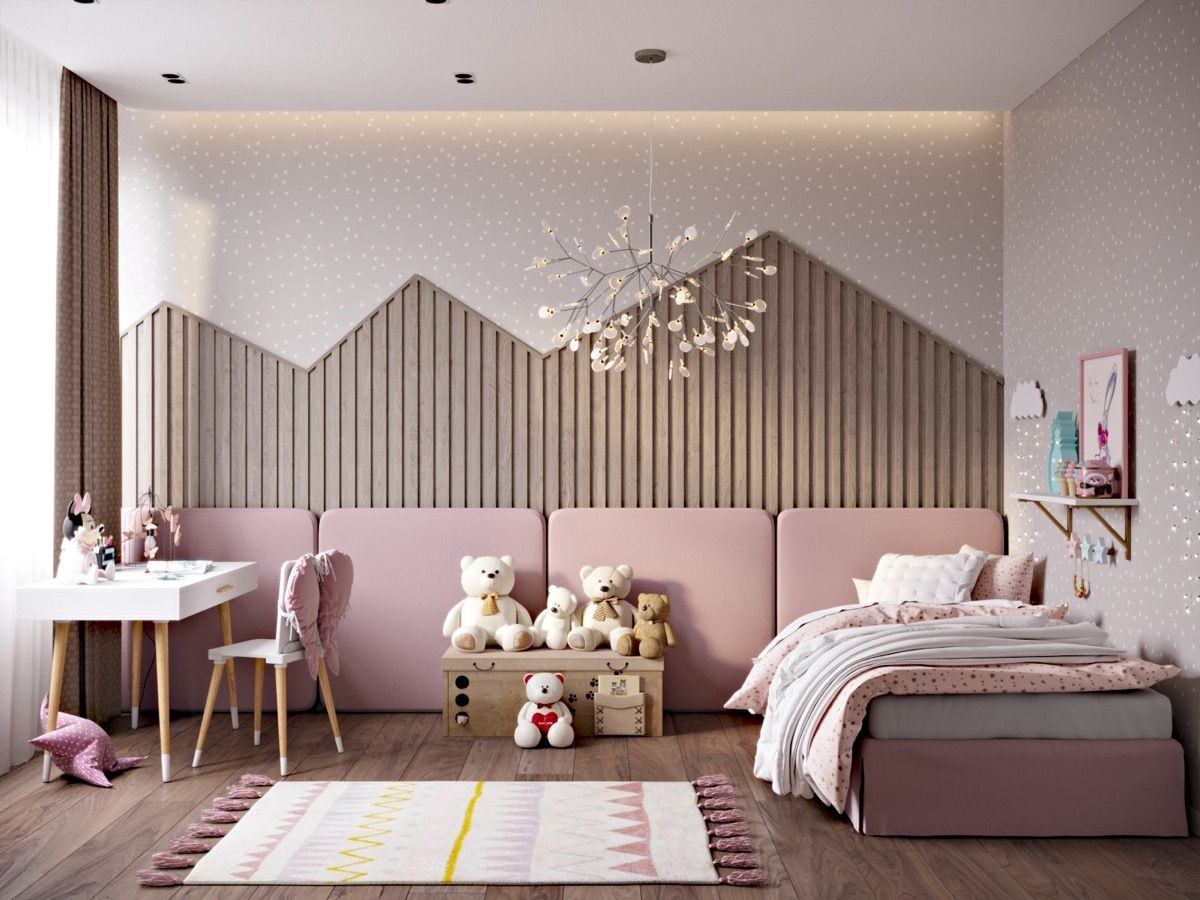 pink bedrooms with images 100