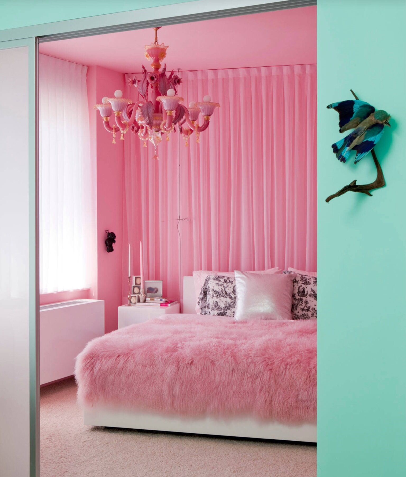 pink bedrooms with images 13