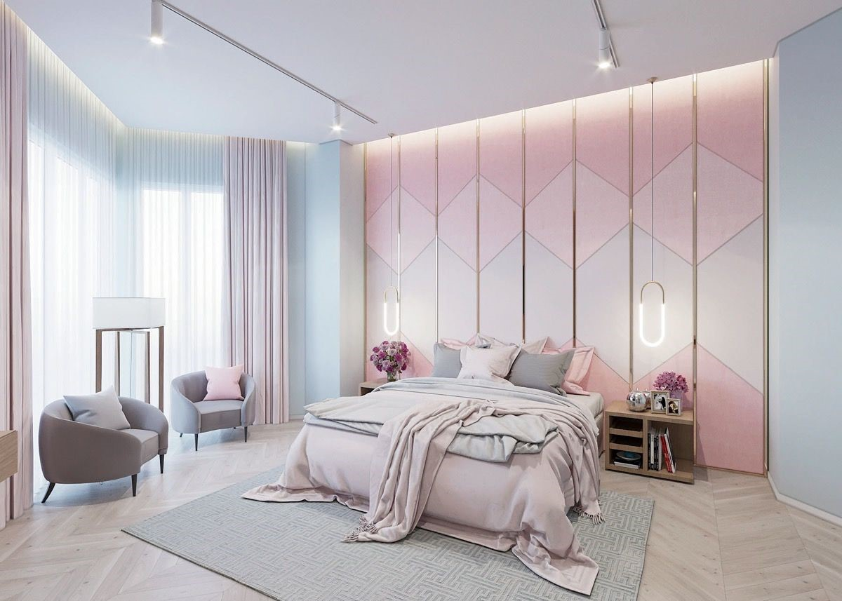 pink bedrooms with images 23