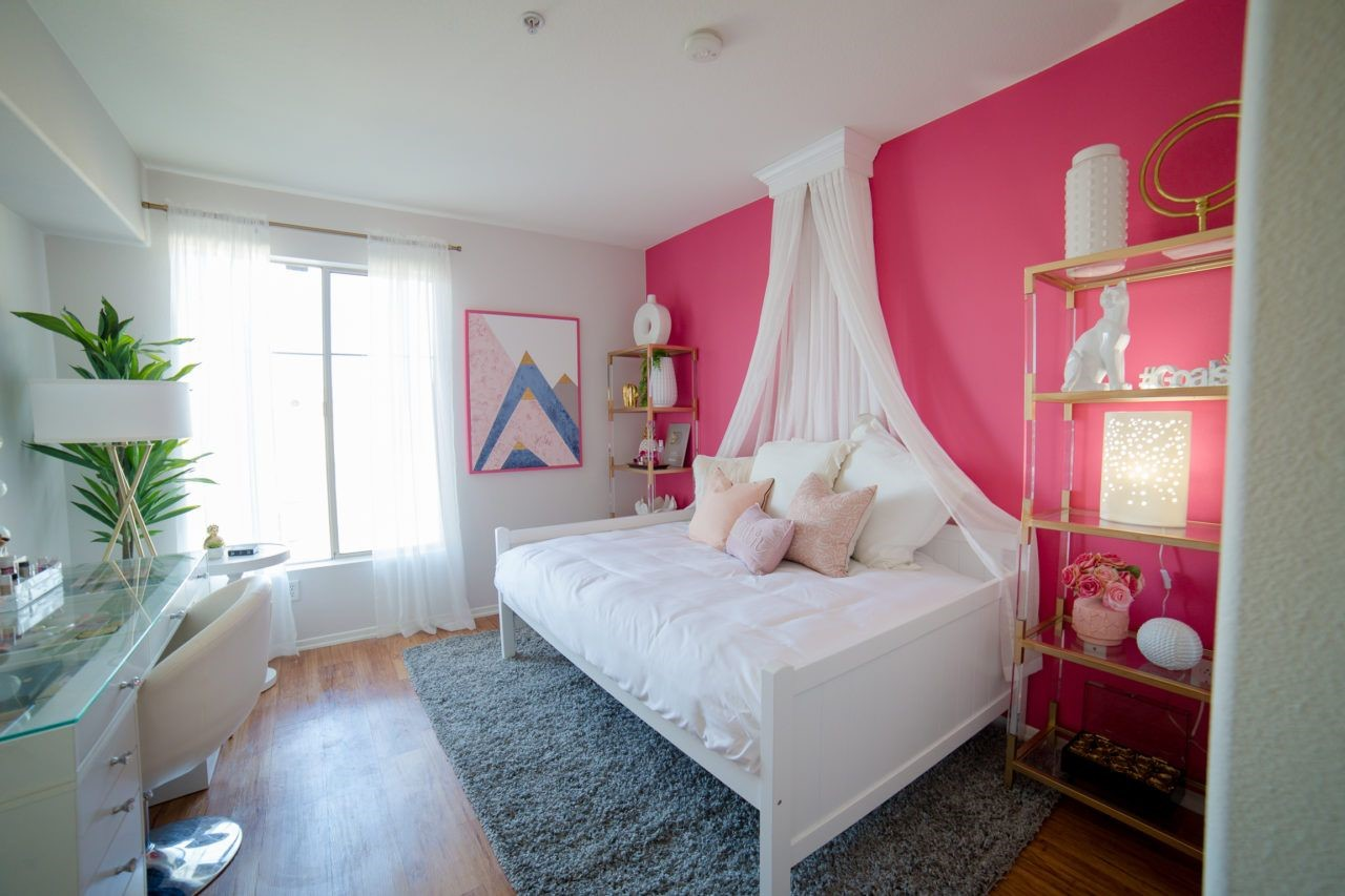 pink bedrooms with images 26