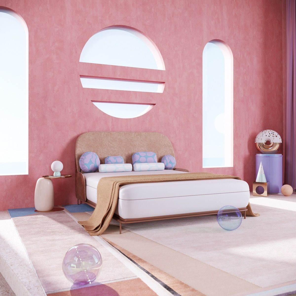 pink bedrooms with images 39