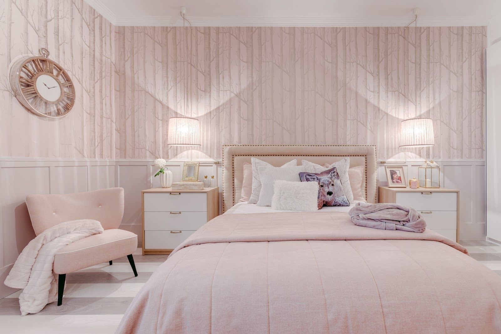 pink bedrooms with images 4