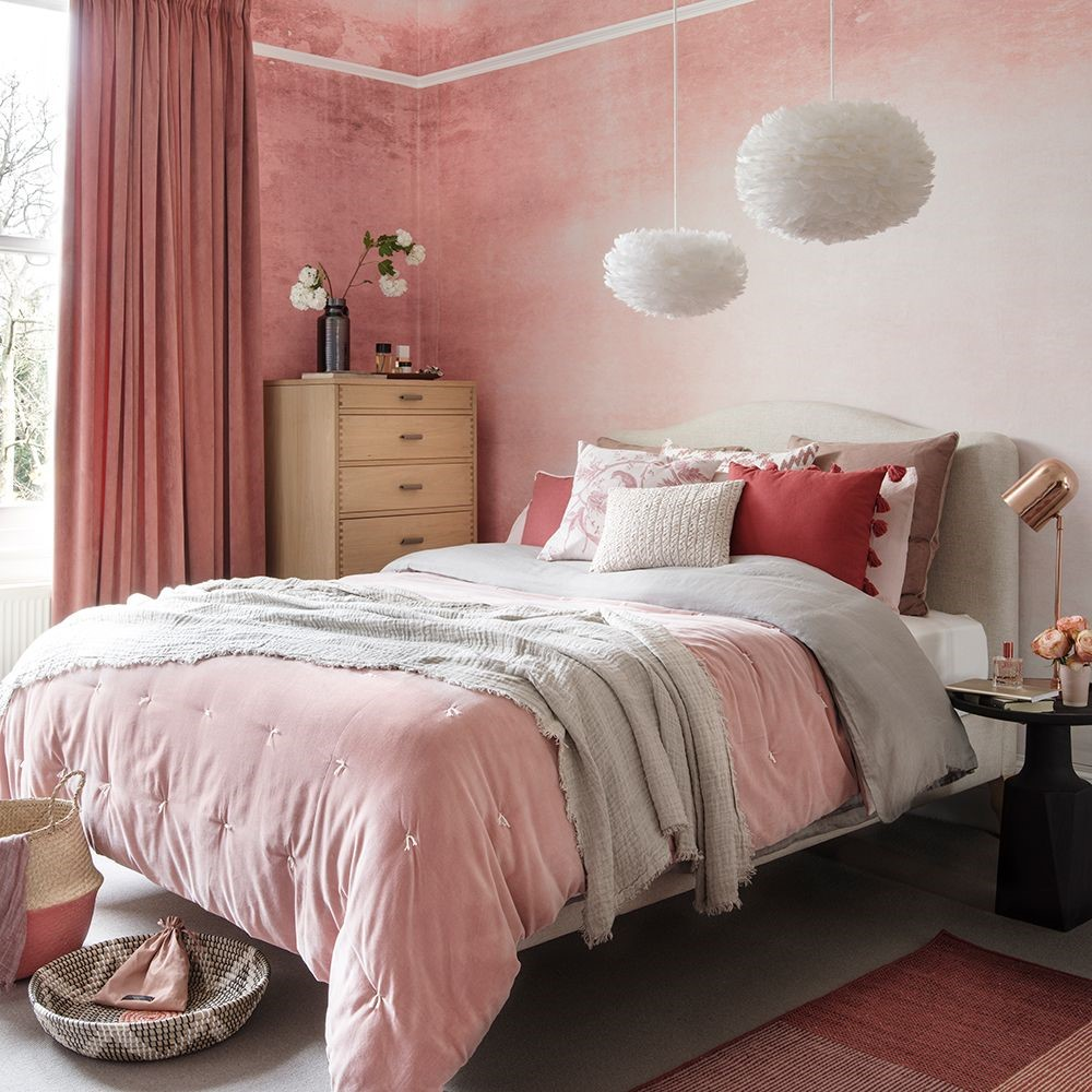pink bedrooms with images 45
