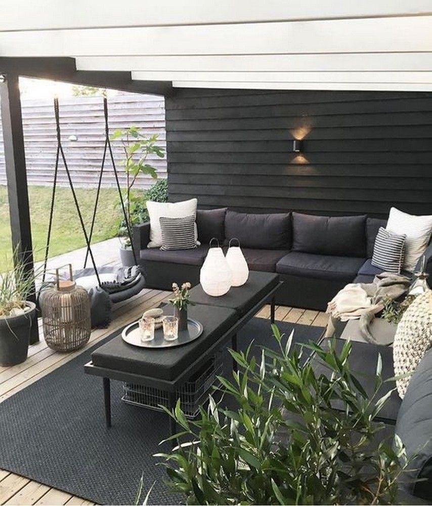 rethink your outdoor space by channeling this dreamy porch swing2